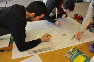 Area asset mapping by the Cancer Focus NI team. Photo by Awashyak Shrestha.