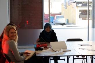 Students at work, Street Society 2015
