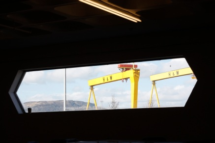 View to the shipyards from the Skyline Building