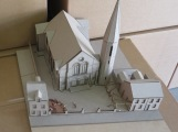 Completed model - Westbourne Church